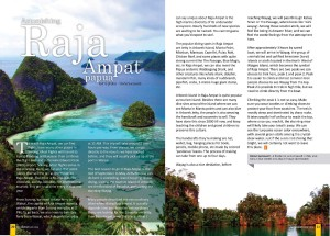 03 The Journey MAY 2013_Raja Ampat